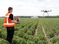 Akkerbouwers tonen interesse in drone