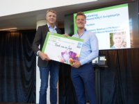 Frank van der Jagt wint LTO Noord-scriptieprijs 2018