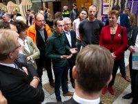 Haagse start voor actie tegen Wet arbeidsmarkt