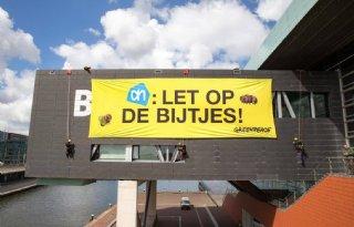 Greenpeace+voert+actie+bij+Ahold