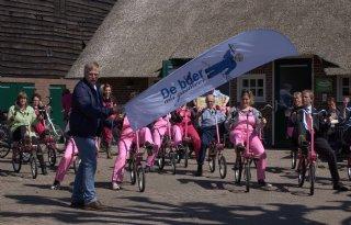 Boeren Vechtdal trappen eigen fietsroutes af