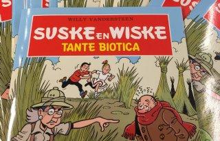 Suske en Wiske en de strijd tegen antibiotica