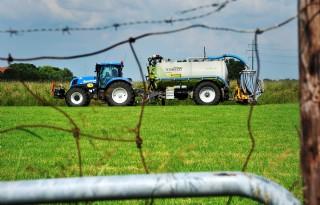 Langer dierlijke mest op groenbemesters