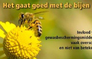 Nefyto: 'Het gaat goed met de bijen'