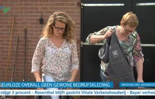 TV: Fris uit stal met geurloze overall