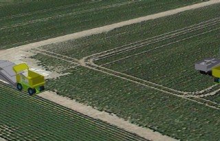 Boer zoekt machine die grond niet belast