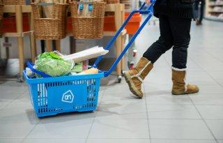 Magere+omzetgroei+supermarkten