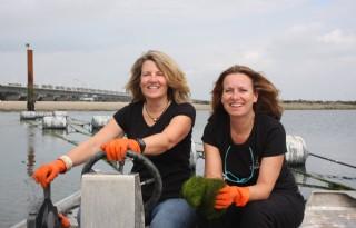 Boerinnen pionieren met onderwaterteelt
