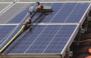 Minder+stroomproductie+van+vuile+zonnepanelen