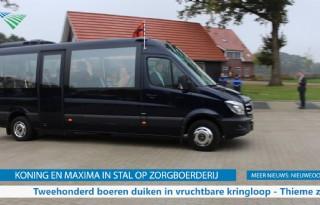 TV: Koning en Maxima in stal op zorgboerderij
