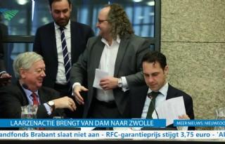 TV: #Laarzenactie dwingt Van Dam tot tekst en uitleg
