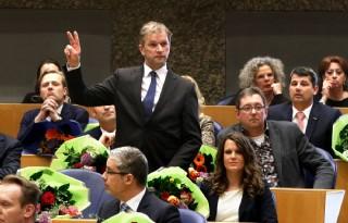 Melkveehouder beëdigd in Tweede Kamer