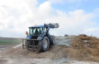 Bollenteler Hulsebosch maakt eigen composthoop