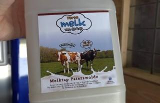 Veenhuis opent eerste melktap in Noord-Drenthe
