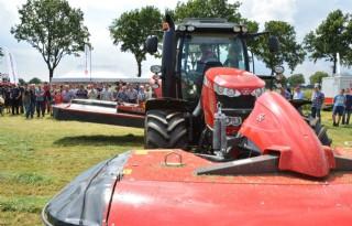 Massey Ferguson toont hooibouwmachines