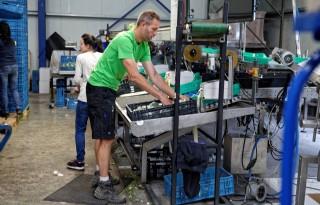 Veilig werken in broccolibedrijf