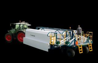 Eerste Cerescon aspergeoogstrobot op Duitse beurs
