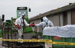 Asbestsanering+op+een+presenteerblaadje