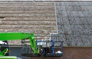 Asbestdaken vrijgesteld van afvalstoffenheffing
