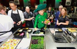 Koningin Máxima heeft Bio-beurs in Zwolle geopend