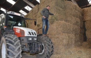 Boeren geven met bijvoeren statement af