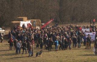 Activisten Oostvaardersplassen laten verdacht pakketje achter