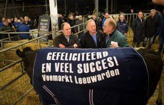 Goede prijs koeien bij hoge aanvoer in Leeuwarden
