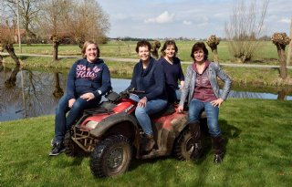 Boerinnengroep bij project 'DAW Krimpenerwaard'