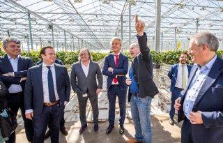 TV: Tuinders praten Wilders bij in kas
