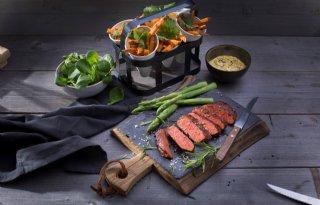 Ministerie+serveert+standaard+vegetarische+maaltijd