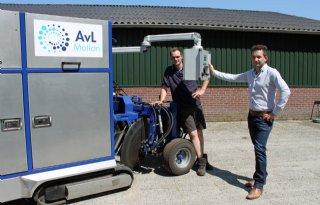 Westerbeeks bedrijf ontwikkelt aspergeoogstrobot