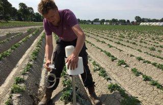 'Over vijf jaar iedere boer een weerstation'
