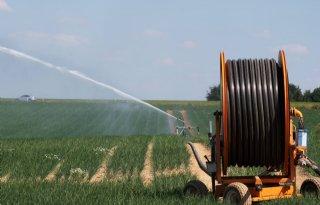 Landbouw+gebruikte+fors+meer+water