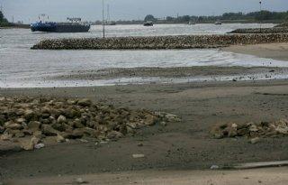 Waterafvoer Rijn daalt naar 1.100 kuub per seconde