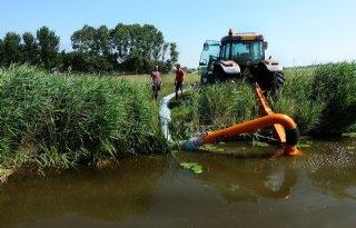 Aanhoudende droogte vraagt om verdeling water