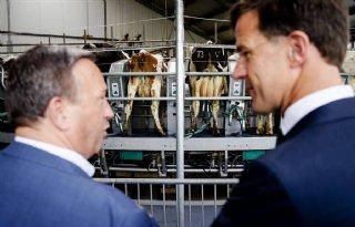 Rutte+bezoekt+Dairy+Campus+Leeuwarden