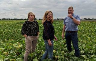 TV: Schouten bezoekt boer, maar belooft niets