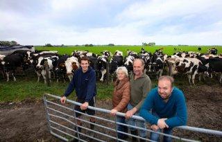 Familie Hiemstra neemt niet snel afscheid van koe