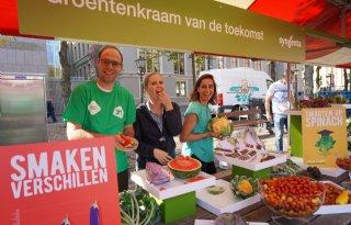 Groenten van de toekomst op grootste groentemarkt