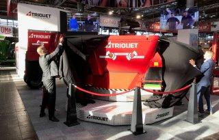 Trioliet presenteert voerrobot op accu's