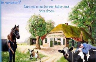 Jong+stel+flyert+voor+eigen+boerderij