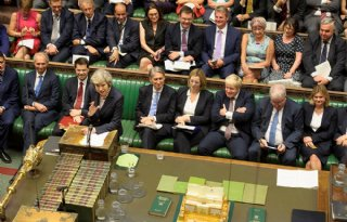 Brits+Lagerhuis+wil+geen+brexit+zonder+deal