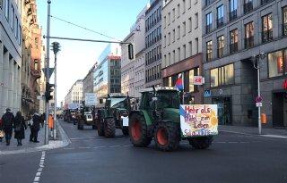Grüne Woche is toneel van publiek landbouwdebat
