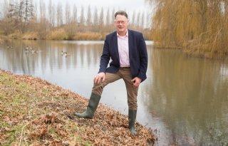 De Jong is boer en waterschapsbestuurder