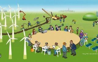 Energielandschap vraagt om regie provincie