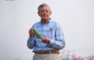 Wereldvoedselprijs voor groentezaadman
