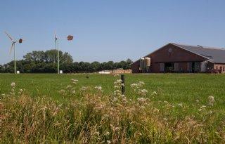 Campagne in Drenthe voor kleine windmolens