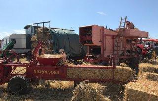 Stoomfluiten en steenkolen op Steam Fair Dorset