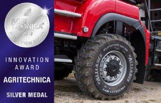 Alliance%2Dband+wint+zilver+op+Agritechnica