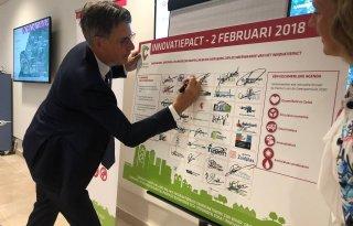 Delfland+ondertekent+Innovatiepact+Greenport